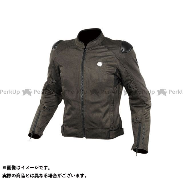 KOMINE ジャケット 2020春夏モデル JK-147 プロテクトストリートメッシュジャケット(オリーブ) サイズ:XL コミネ