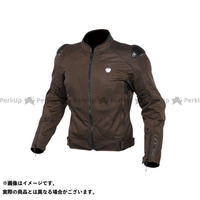 KOMINE ジャケット 2020春夏モデル JK-147 プロテクトストリートメッシュジャケット(ダークブラウン) サイズ:L コミネ