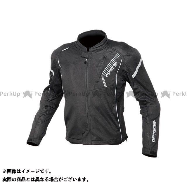 KOMINE ジャケット 2020春夏モデル JK-128 プロテクトフルメッシュジャケット(ソリッドブラック) サイズ:M コミネ
