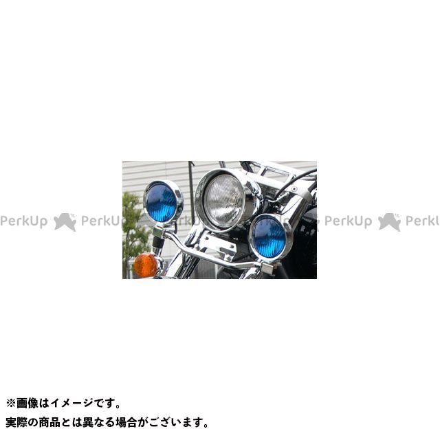 【無料雑誌付き】American Dreams バルカン400クラシック バルカン800クラシック ヘッドライト・バルブ フォグランプキット(ブルー) アメリカンドリームス