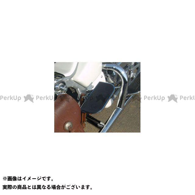 【無料雑誌付き】American Dreams スティード400 スティード600 フロアボード・ステップボード リアステップボード(メッキ/黒) アメリカンドリームス
