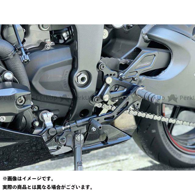 【無料雑誌付き】STRIKER ニンジャZX-6R ステップ スペシャルステップKIT ZX-6R 19- 6ポジション 黒 ストライカー