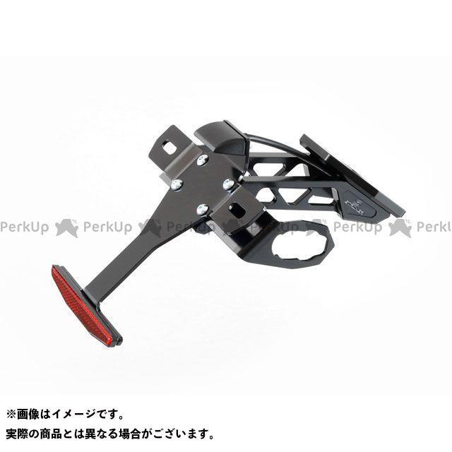 【エントリーで最大P21倍】STRIKER ニンジャ250 ニンジャ400 フェンダー アルミビレットフェンダーレスキット 18-NINJA250/400 ブラック ストライカー