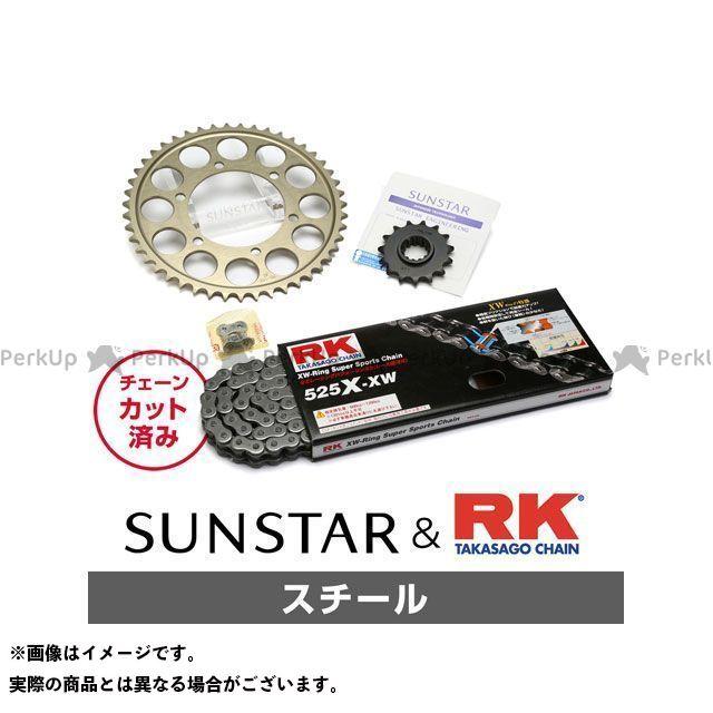 【特価品】SUNSTAR Z1000 スプロケット関連パーツ KR49211 スプロケット&チェーンキット(スチール) サンスター