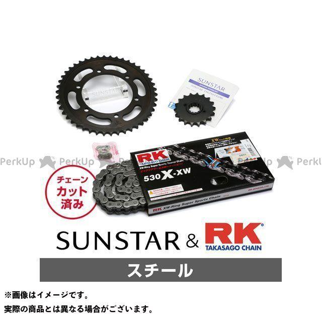 【特価品】SUNSTAR CB1300スーパーフォア(CB1300SF) スプロケット関連パーツ KR50415 スプロケット&チェーンキット(スチール) サンスター