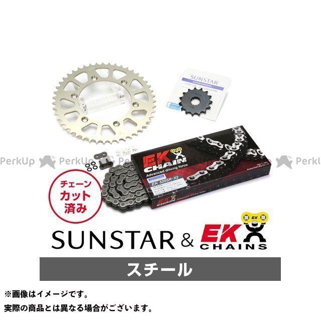 【特価品】SUNSTAR TT250R スプロケット関連パーツ KE36101 スプロケット&チェーンキット(スチール) サンスター