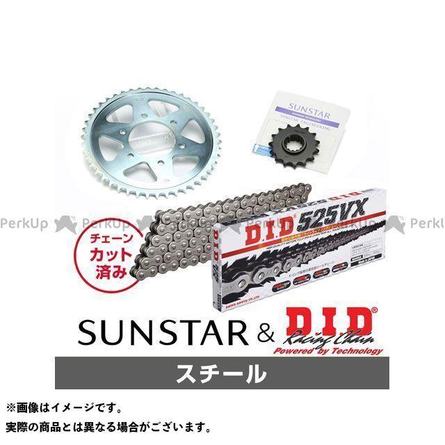 【特価品】SUNSTAR Z750FX Z750GP スプロケット関連パーツ KD40715 スプロケット&チェーンキット(スチール) サンスター