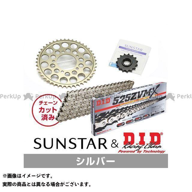 【特価品】SUNSTAR Z1000H スプロケット関連パーツ KD41212 スプロケット&チェーンキット(シルバー) サンスター