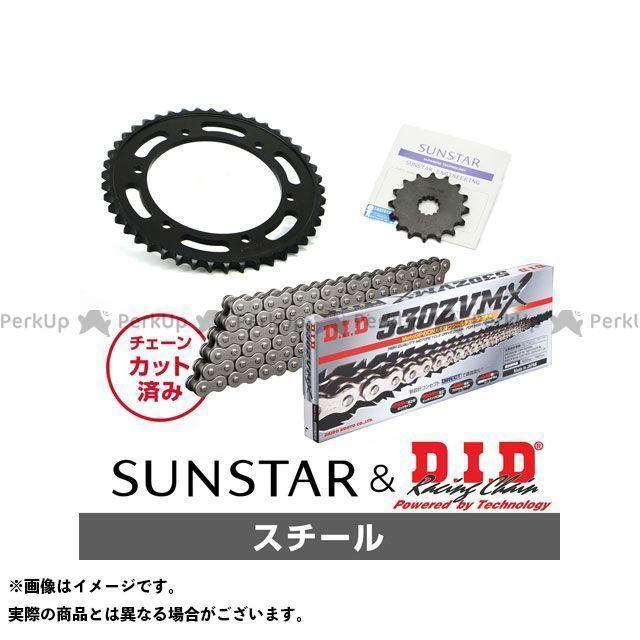 【特価品】SUNSTAR ニンジャ900 スプロケット関連パーツ KD5C515 スプロケット&チェーンキット(スチール) サンスター