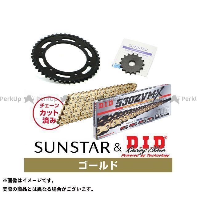 【特価品】SUNSTAR ニンジャ900 スプロケット関連パーツ KD5C517 スプロケット&チェーンキット(ゴールド) サンスター
