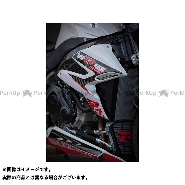 S2 Concept XSR900 カウル・エアロ Radiator Scoops GSXR1000 VIRUS raw | FV1004.000 S2コンセプト