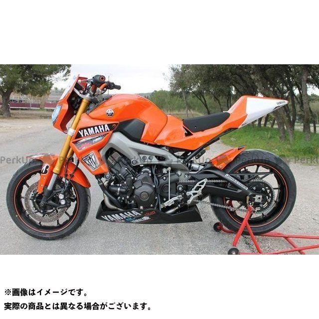 S2 Concept MT-09 その他外装関連パーツ Scoops de radiateur MT09 raw | Y855 S2コンセプト