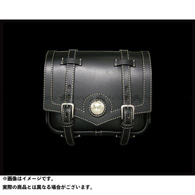 ラフテールレザーワークス ツーリング用バッグ ラフテール シャーマンサドルバッグ ブラック サイズ:S RoughTail leather works