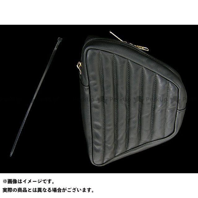 クルマザカシタ ソフテイルファミリー汎用 ツーリング用バッグ ソフテイル&リジット用 サイドバッグ 仕様:タックロール 車坂下