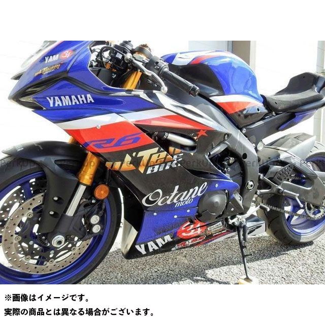 S2 Concept YZF-R6 カウル・エアロ Fairing avant YAMAHA R6 from 2017 | CAYS2-Y601 S2コンセプト