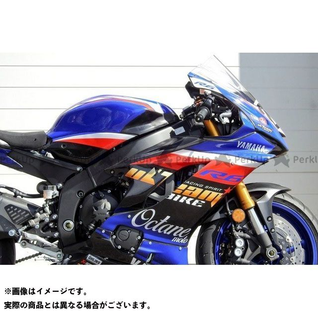 S2 Concept YZF-R6 カウル・エアロ Fairing Top YAMAHA R6 from 2017 | CAYS2-Y603 S2コンセプト