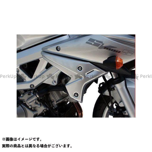 S2 Concept SV1000S カウル・エアロ Radiator Scoops SUZUKI SV1000S (2003-2007) raw   903860.000 S2コンセプト