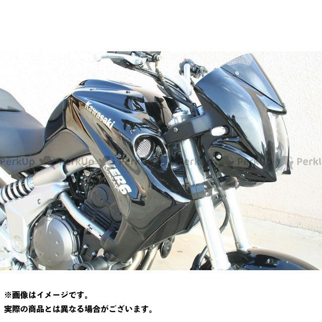 S2 Concept ヴェルシス1000 カウル・エアロ Radiator Scoops VERSYS raw | K674.000 S2コンセプト
