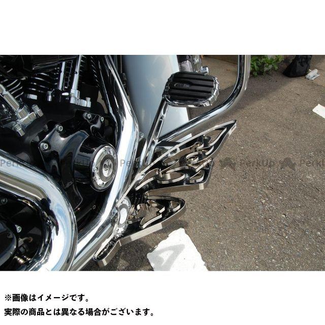 【無料雑誌付き】Art Of Aluminum Kenji Murakami フロアボード・ステップボード Floor Board Butterfly Long カラー:黒アルマイト ケンジムラカミ