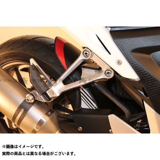 【エントリーで最大P21倍】S2 Concept CB500F その他外装関連パーツ Rear mudguard CBR500R ブラック   H502 S2コンセプト