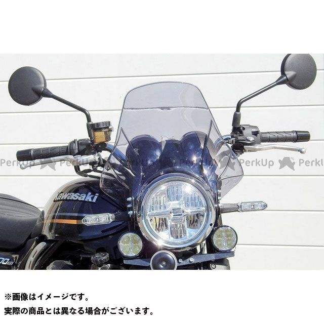S2 Concept Z900RS スクリーン関連パーツ Bubble srceen fum?e clair for Kawasaki Z900RS | BKZ900RS S2コンセプト