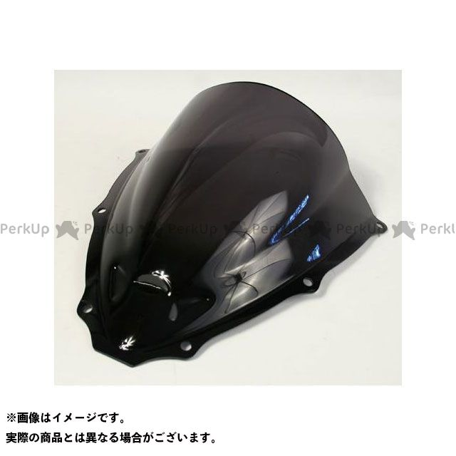 S2 Concept GSX-R600 スクリーン関連パーツ Bubble Screen Racing DOUBLE COURBURE for SUZUKI GSX-R600 ヒューム | BS759FU-GSX-R600 S2コンセプト