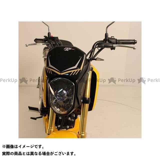S2 Concept グロム カウル・エアロ Nose fairing MSX125 ブラック   H135.XXX S2コンセプト