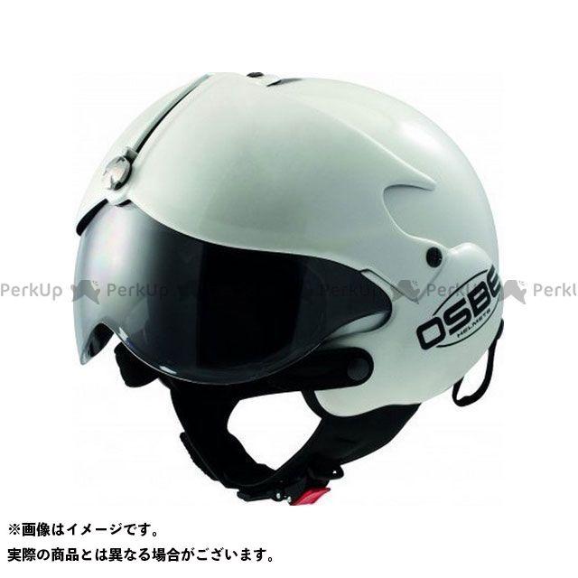 OSBE ジェットヘルメット TORNADO MONO HELMET(WHITE PEARL) サイズ:63 OSBE