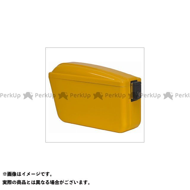 アサヒフウボウ ツーリング用ボックス チャンピオンバッグ左側(イエロー) 旭風防