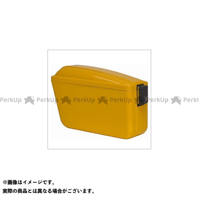 アサヒフウボウ セロー250 ツーリング用ボックス チャンピオンバッグ(イエロー) 旭風防