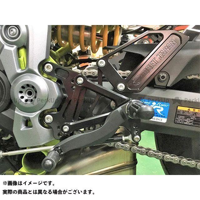 【無料雑誌付き】ビートジャパン Z900 バックステップ関連パーツ 18 ハイパーバンク(固定式) BEET