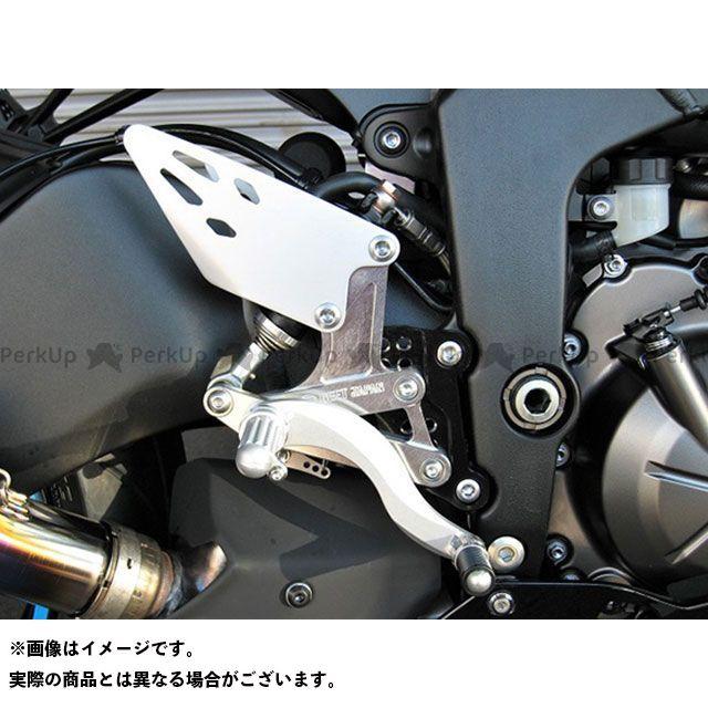 【無料雑誌付き】ビートジャパン ニンジャZX-6R バックステップ関連パーツ 19-ハイパーバンク固定式(シルバー) BEET