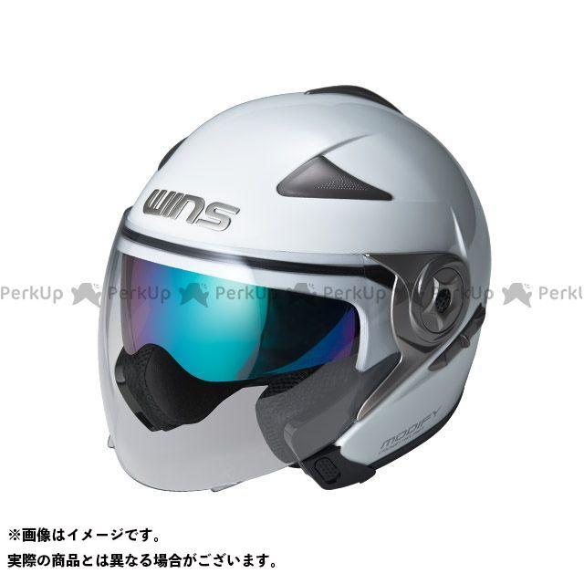 送料無料 WINS ウインズ ジェットヘルメット MODIFY JET パールホワイト M/57-58cm