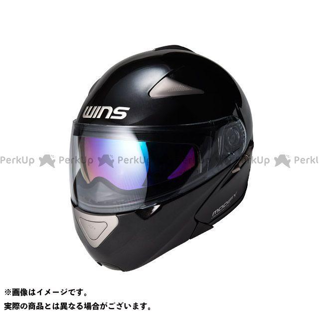 送料無料 WINS ウインズ システムヘルメット(フリップアップ) MODIFY メタリックブラック XL/59-60cm