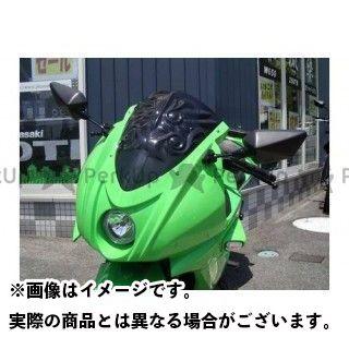 PLEASURE ニンジャ250R スクリーン関連パーツ Ninjya250R アーマードレリーフ Type1