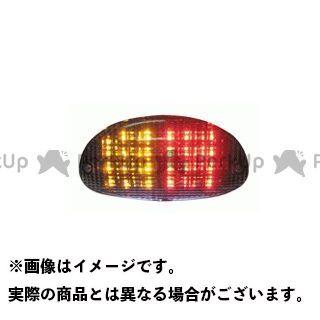 送料無料 ETHOS Design TDM850 ゼファー1100 テール関連パーツ LED クリアテールランプユニット(サブウインカー機能付き)