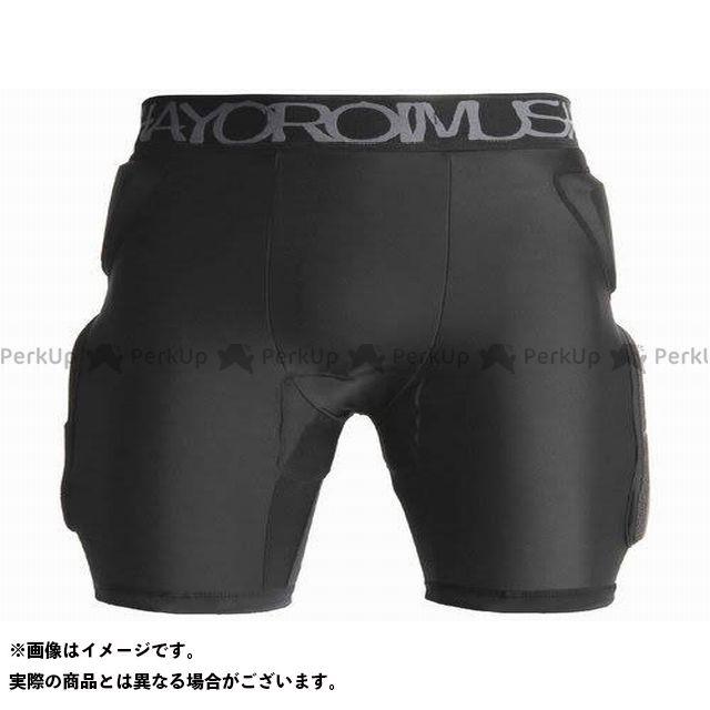 yoroimusha バンクセンサー SHORT HIP PROTECTOR/KEVLAR(ブラック) サイズ:S 鎧武者