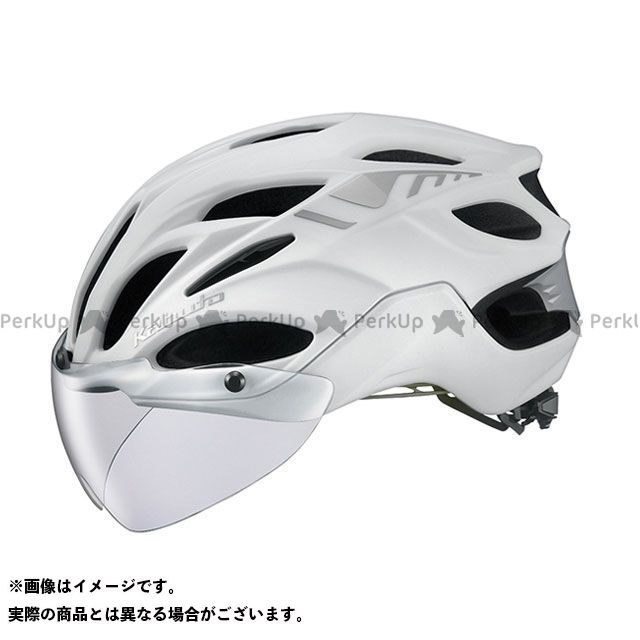 OGK KABUTO ヘルメット VITT(マットパールホワイト) サイズ:L(59-60cm) OGK KABUTO(自転車)