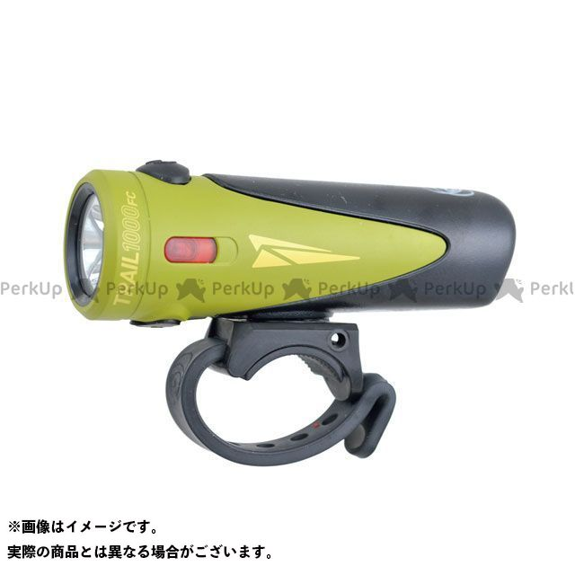 LIGHT&MOTION アクセサリー TRAIL1000 FC(トレイル1000FC)1000ルーメン USB充電式 急速充電対応 アルミ削り出しボディ IP67 耐塵防水 FL-1規格クリア Ranger(オリーブ/ブラック) LIGHT&MOTI…