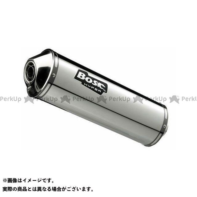 【エントリーで最大P23倍】BOS GSR750 マフラー本体 エキゾースト オーバル 120S ステンレス ポリッシュド-スリップオン(EU圏公道走行認可eマーク付) BOS