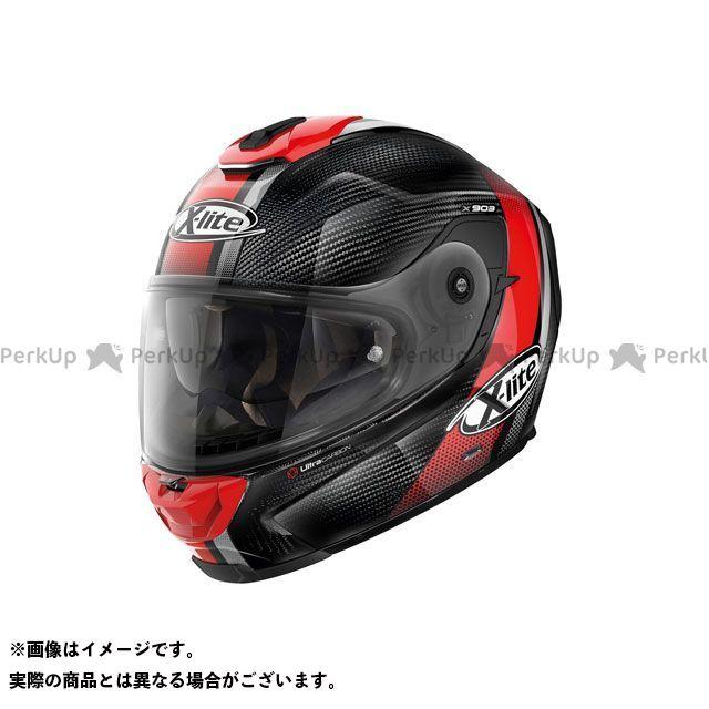 エックスライト フルフェイスヘルメット X-903 ULTRA CARBON セナター(レッド/24) サイズ:S X-lite