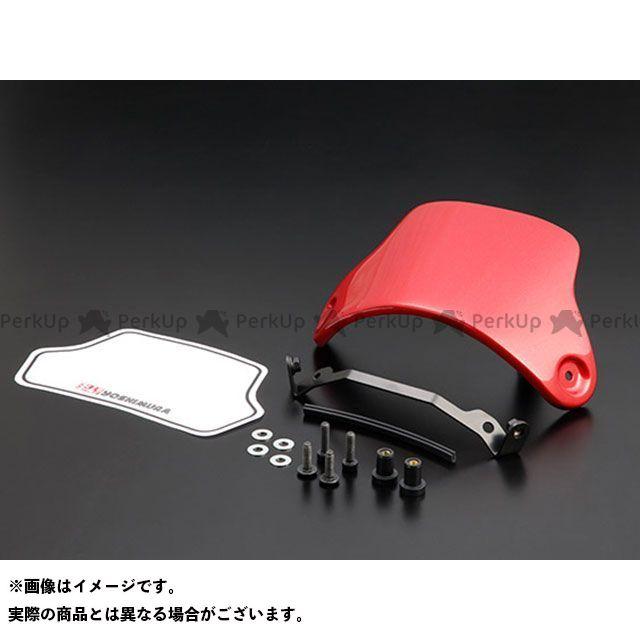 【エントリーで最大P23倍】YOSHIMURA モンキー125 メーターカバー類 メーターバイザーSET(レッド) ヨシムラ