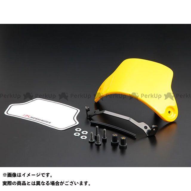 【エントリーで最大P23倍】YOSHIMURA モンキー125 メーターカバー類 メーターバイザーSET(イエロー) ヨシムラ