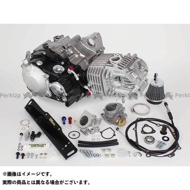 【エントリーで最大P21倍】TAKEGAWA グロム エンジン本体 スーパーヘッド4V+Rコンプリートエンジン181cc(湿式クラッチ仕様) SP武川