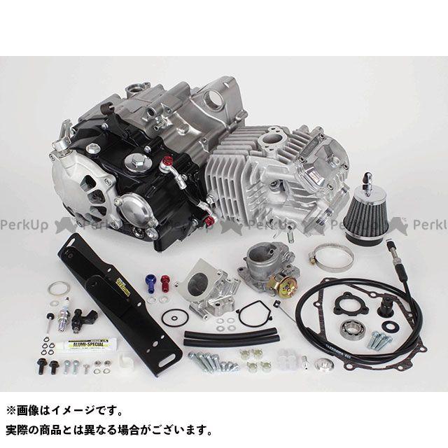 【エントリーで最大P21倍】TAKEGAWA グロム エンジン本体 スーパーヘッド4V+Rコンプリートエンジン181cc(乾式クラッチ仕様) SP武川