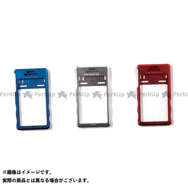 ホンダ 小物・ケース類 Honda EP-R95 アルミビレットiPhoneカバー A Type カラー:ブルー サイズ:F Honda