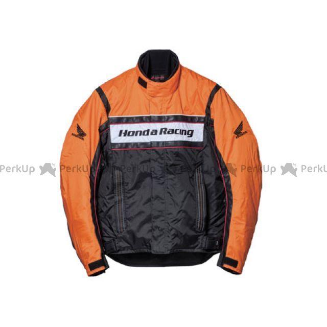 【エントリーでポイント10倍】送料無料 Honda ホンダ ジャケット Honda TN-S3K ウインターツーリングウイングブルゾン オレンジ 4L