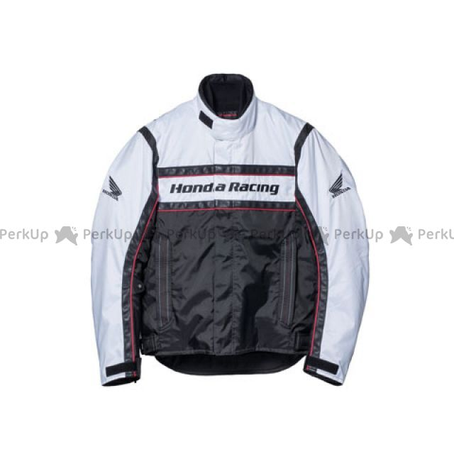 【エントリーでポイント10倍】送料無料 Honda ホンダ ジャケット Honda TN-S3K ウインターツーリングウイングブルゾン ホワイト L