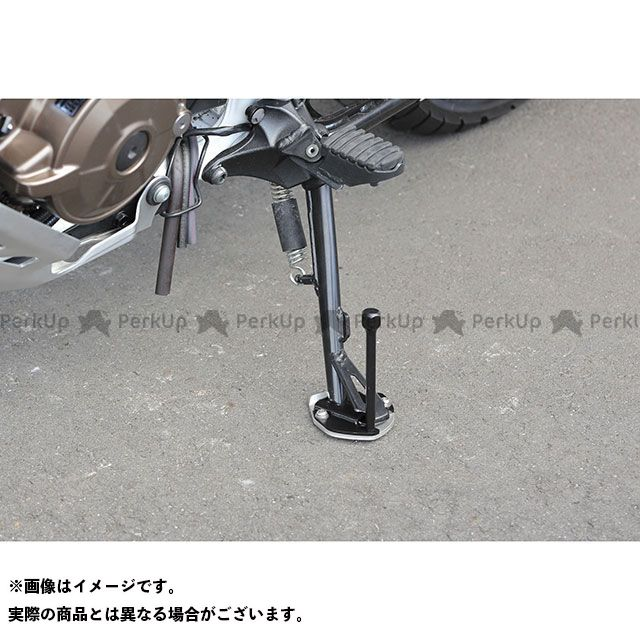 【無料雑誌付き】KIJIMA CRF1000Lアフリカツイン スタンド関連パーツ サイドスタンドワイドプレート&エクステンション キジマ