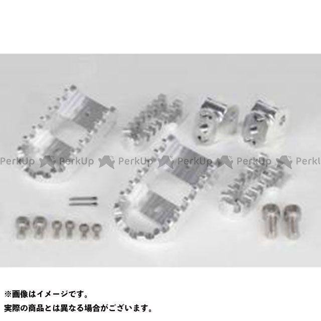 【無料雑誌付き】TAKEGAWA CBR250R グロム モンキー125 ステップ ビレットワイドステップキット(シルバー) SP武川